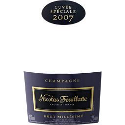 Champagne brut millésimé 2007