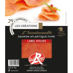 L'Incontournable saumon atlantique fumé Label Rouge