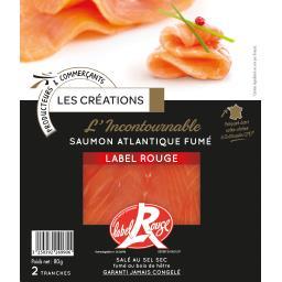L'Incontournable saumon atlantique fumé Label Rouge