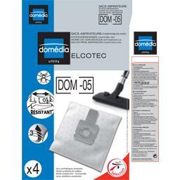 Sacs aspirateurs DOM-05 compatibles Elcotec