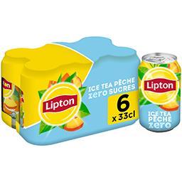 Ice Tea - Boisson saveur pêche zéro sucres