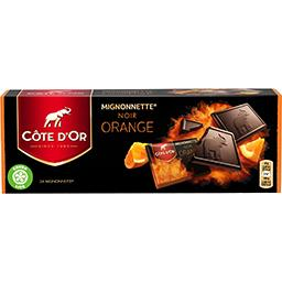 Mignonnette noir orange