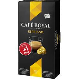 Café Royal Capsules de café Espresso la boite de 10 - 57 g