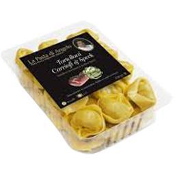 Tortelloni artichauts et jambon speck