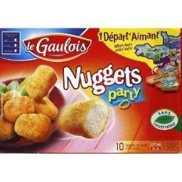 Nuggets de dinde, la boîte de 10,LE GAULOIS,x10 200g