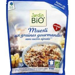 Muesli aux graines gourmandes BIO