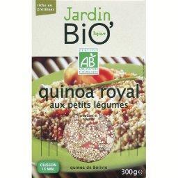 Amarante quinoa royal aux petits légumes BIO