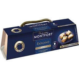 Montfort Bloc de foie gras de canard Excellence finement salé... le bloc de 140 g