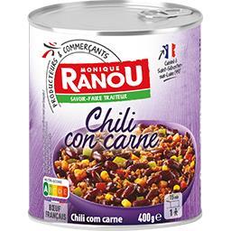 Claude Léger Chili Con Carne pur bœuf la boite de 400 g