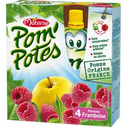 Pom'Potes - Compote pomme framboise