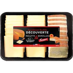 Plateau assortiment raclette & maroilles