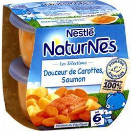 Les Sélections - Douceur de carottes saumon, dès 6 m...