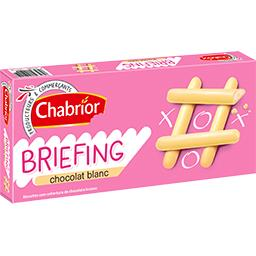 Biscuits Briefing chocolat blanc