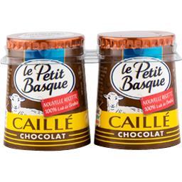Caillé 100% brebis chocolat
