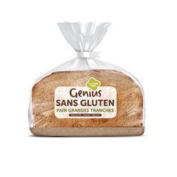 Pain grandes tranches s/gluten Genius