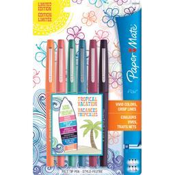 Flair - Feutre stylo couleurs pointe moyenne