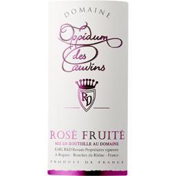Vin de pays Méditerranée fruité, vin rosé