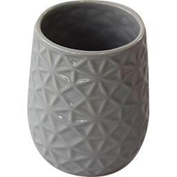 Gobelet Magic céramique 8,5x10,5 cm gris