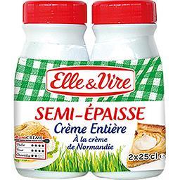 Crème de Normandie entière semi-épaisse