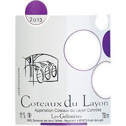 Coteaux du Layon vin blanc Les Gelinières Domaine de...