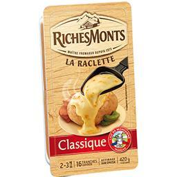 Riches Monts Fromage La Raclette Classique