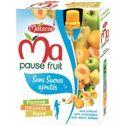 Ma Pause Fruit - Spécialité de pomme mirabelle poire...