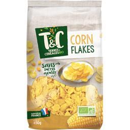 Corn flakes sans sucre ajoute