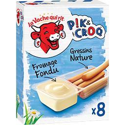 Fromage fondu Pik & Croq' et gressins
