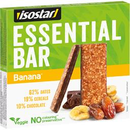 Isostar Essential Bar - Barres céréales banane chocolat les 3 barres de 35 g