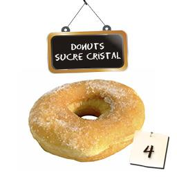 Donuts sucre cristal