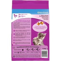 Croquettes au saumon pour chats stérilisé 1 an+