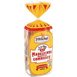 Madeleines pur beurre recette de Commercy