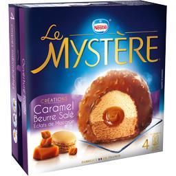 Créations - Glace Le Mystère caramel beurre salé