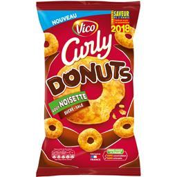 Curly - Biscuits apéritif Donuts goût noisette sucré...