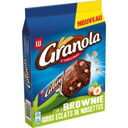 Granola - Brownie gros éclats de noisettes