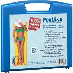 Kit complet désinfection 100% sans chlore piscines 45 à 60m³