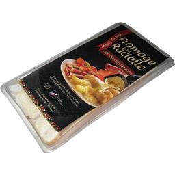 Fromage à raclette avec de la viande des grisons