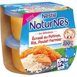 Les Sélections - Ecrasé potiron riz poulet fermier, ...