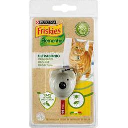Elementia - Répulsif Ultrasonic puces/tiques pour chat