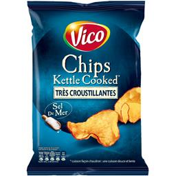 Chips Kettle Cooked sel de mer