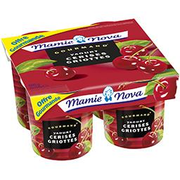 Gourmand - Yaourt cerises Griottes