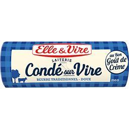 Beurre de la Laiterie de Condé sur Vire doux