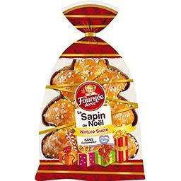 Le Sapin de Noël nature au sucre