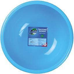 Bassine ronde bleue 6,3 L