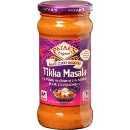 Sauce curry indienne Tikka Masala tomate citron cori...
