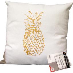 Coussin déco 40X40 cm Ananas