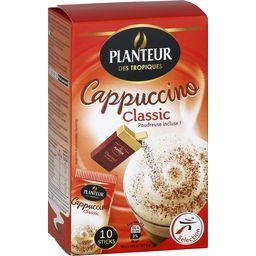 Cappuccino classic, préparation pour boisson instantanée, x10 sachets, la boîte,PLANTEUR DES TROPIQUES,1 null
