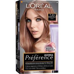Infinia Préférence - Coloration 7,23 Rosegold blond