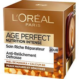 L'Oréal L'Oréal Crème riche réparatrice jour nutrition intense - Age...