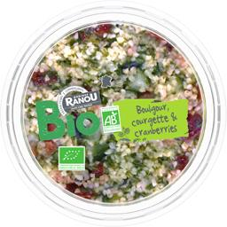 Boulgour courgette & Cranberries BIO